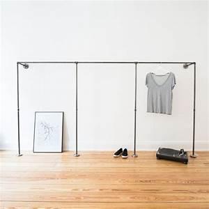 Kleiderschrank Industrial Design : die besten 25 offene garderobe ideen auf pinterest offener schrank kleiderschrank ideen und ~ Markanthonyermac.com Haus und Dekorationen