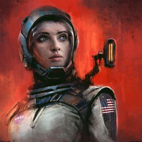 ArtStation - Astronaut, K