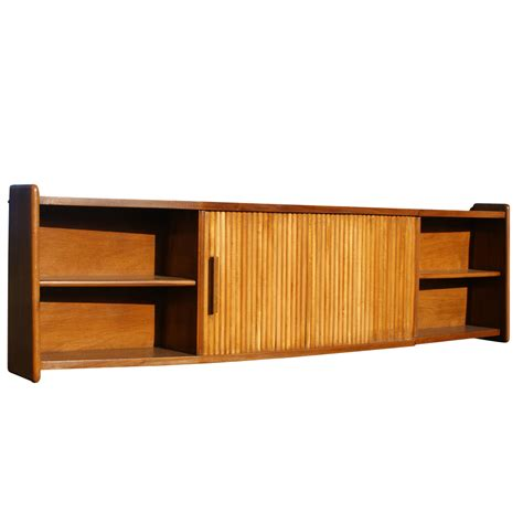 images of hanging cabinet 65 quot vintage wood tambour door wall hanging cabinet mr9848