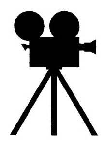 Movie Camera Silhouette Clip Art