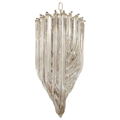 vintage murano chandelier by venini at 1stdibs