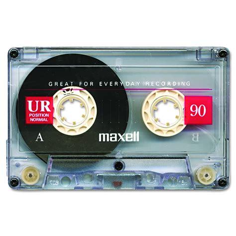 maxell cassette maxell normal bias audio cassette 90 minute pl1 2582