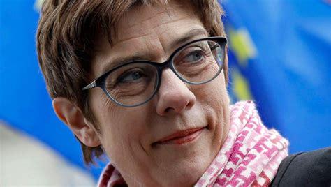 "Presidential elections, the german debate over the future of transatlantic relations is fractious. Annegret Kramp-Karrenbauer: ""Ich stehe nicht jeden Morgen ..."