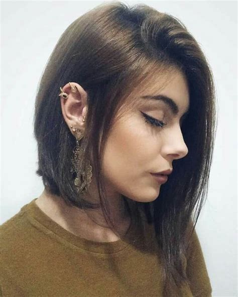 corte chanel  penteados  usar  chanel  estilo