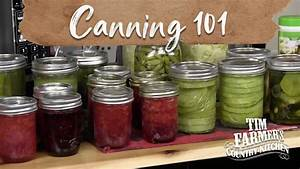 Canning 101 - The Basics For Beginners