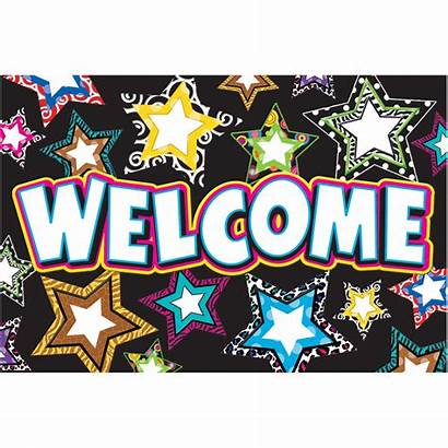 Welcome Stars Fancy Postcards Postcard Write Teachercreated