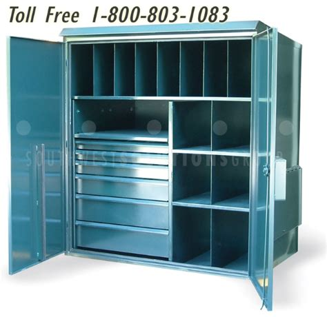 Metal Garden Storage Cabinet by Outdoor Steel Metal Storage Cabinets Locking Large Heavy Duty