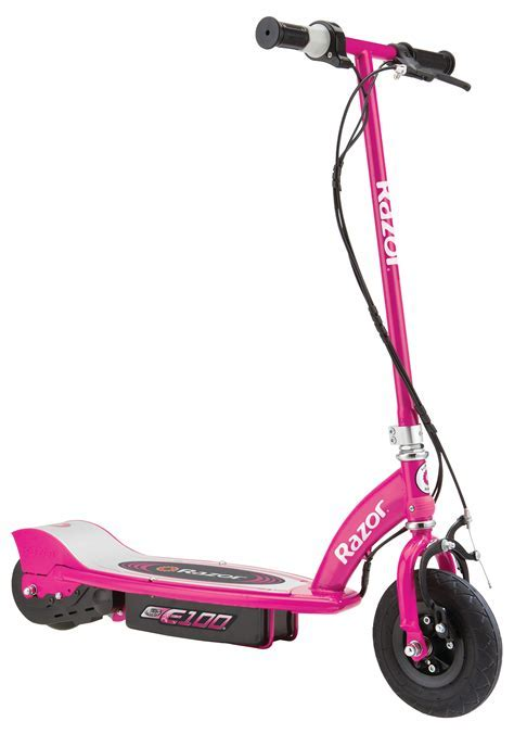 Razor® E 100 Electric Scooter, Pink