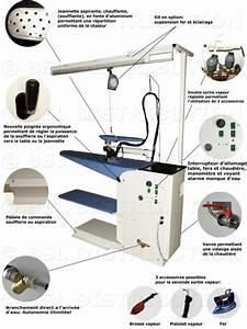 Table A Repasser Aspirante : table repasser professionnelle chauffante et aspirante ~ Premium-room.com Idées de Décoration