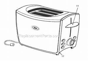 Oster 6181 Parts List And Diagram   Ereplacementparts Com
