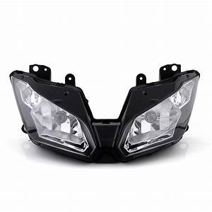 Front Headlight Headlamp Assembly For Kawasaki Ninja 300
