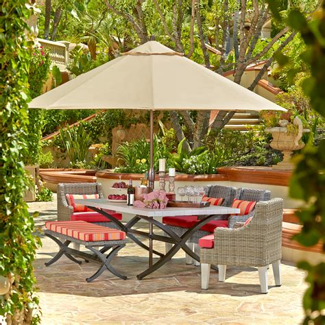outdoor oasis outdoor oasis newberry 7pc dining set