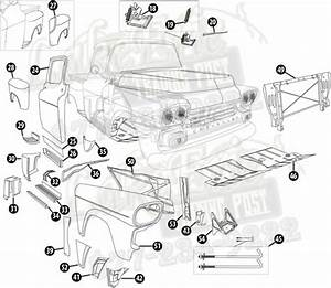 chevy truck rust repair parts pictures to pin on pinterest With 1946 ford truck 4x4