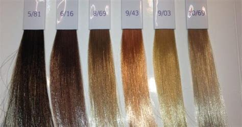 Wella Illumina Hair Colors