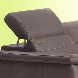 canape angle relax electrique cuir vachette tetiere reglable With canape cuir tetiere