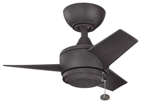 kichler 310124dbk 24 inch yur fan transitional ceiling