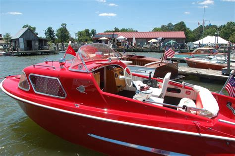 Boat Antiques by The 25th Annual Antique Classic Boat Show At The