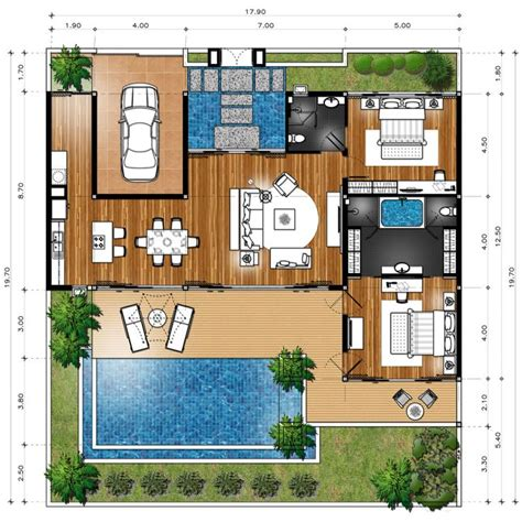 Villa Home Plans by Best 25 Villa Plan Ideas On Villa Design