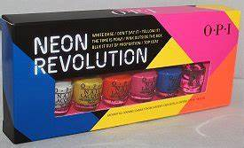 OPI Neon Revolution Mini Set Swatches Review &