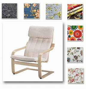 Custom Made Armchair Cover Fits IKEA Poang Chair