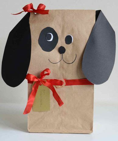 and craft ideas for perrito envoltorios wrapped gifts gift 7397