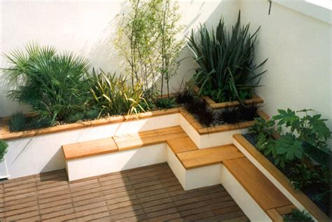 landscape seating beautiful roof gardens and landscape designs