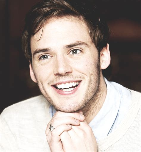 sam claflin and hasome image on We Heart It