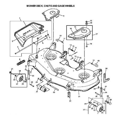deere lx277 mower deck parts diagram downloaddescargar com