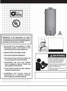 Reliance Water Heaters Water Heater 606 Series User Guide