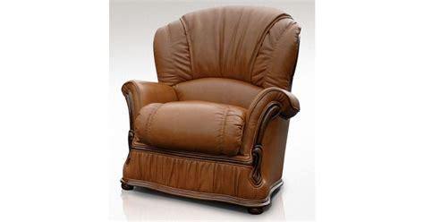 Bologna Armchair Genuine Italian Tan Leather Offer