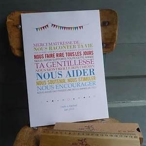 Idee Cadeau Pour Remercier Une Nounou : affiche merci ma tresse cadeau ma tresse original ~ Dallasstarsshop.com Idées de Décoration