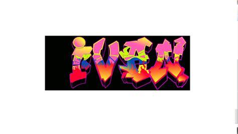 """Grafiti Ivan : Search Results For """"el Nombre De Ivan En Graffiti"""