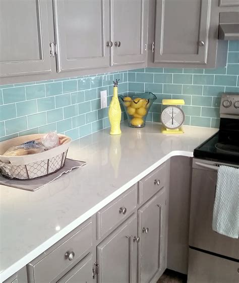 blue glass backsplash kitchen blue glass subway tile backsplash home design ideas and 4808
