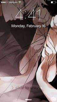 My lock screen. For those of you who don't know that's ...