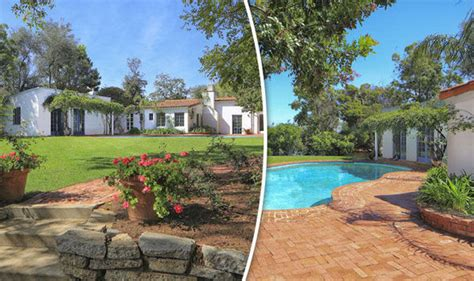 marilyn monroe home   died hits  property
