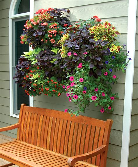 Wall Planter Box by Window Box And Wall Planter Photo Gallery