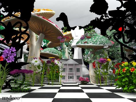 mydeco com launches alice in wonderland inspired interior