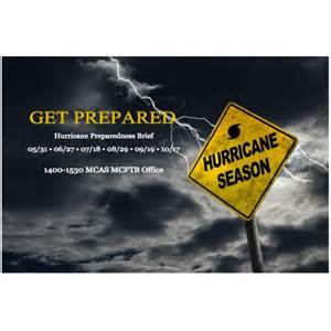 2017 Hurricane Preparedness Week
