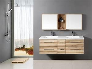 idee salle de bain teck pour une deco bois durable et jolie With idee salle de bain bois