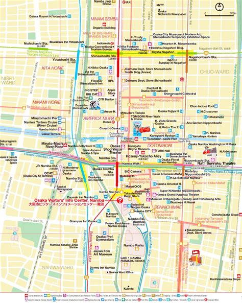 minami area map