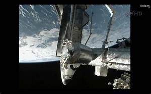 Atlantis Docks to the ISS