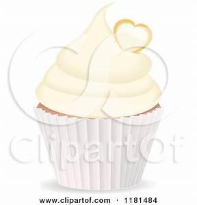 Royalty-Free (RF) Vanilla Cupcake Clipart, Illustrations ...