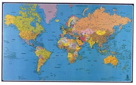 carte souple murale planisph 232 re cartes g 233 ographiques taille crayon