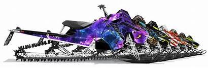 Snowmobile Polaris Rmk Graphics Assault Decals Sled