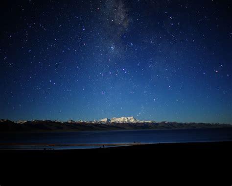 The Night Sky In Tibetnatural Scenery Wallpaper1280x1024