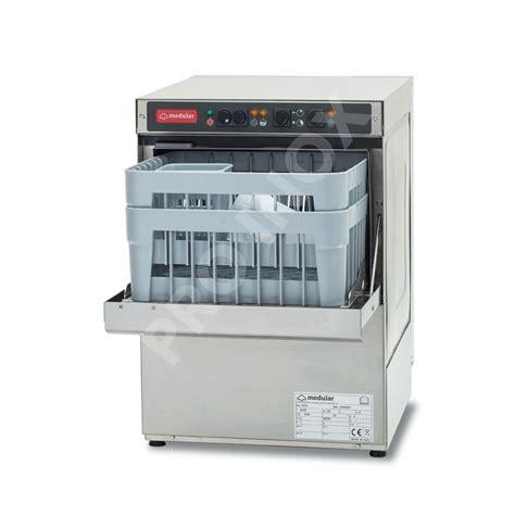 nettoyage hotte cuisine professionnel lave verre gw35a avec adoucisseur intégré modular