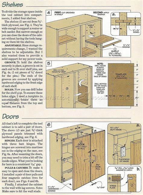 tool wall template wall tool cabinet plans woodarchivist