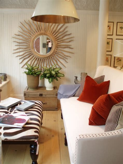 Rooms And Decorating Ideas by 30 Exceptional Ideas For Decorating With A Sunburst Mirror