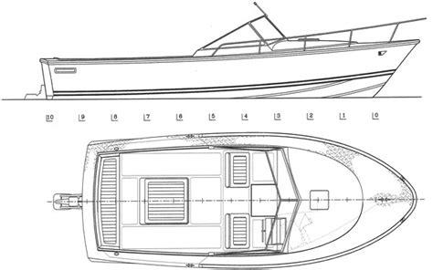 Boat Dimensions by L 26 Cuddy Cabin Medeiros Boatworks