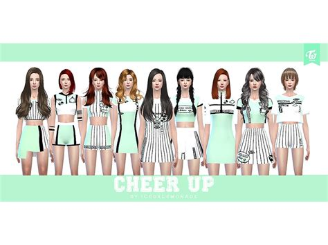 Icedxlemonade's Twice  Cheer Up Collection